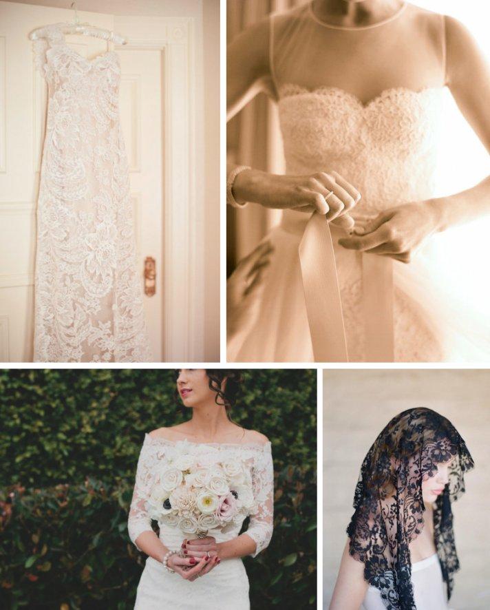 lace wedding dresses for romantic brides