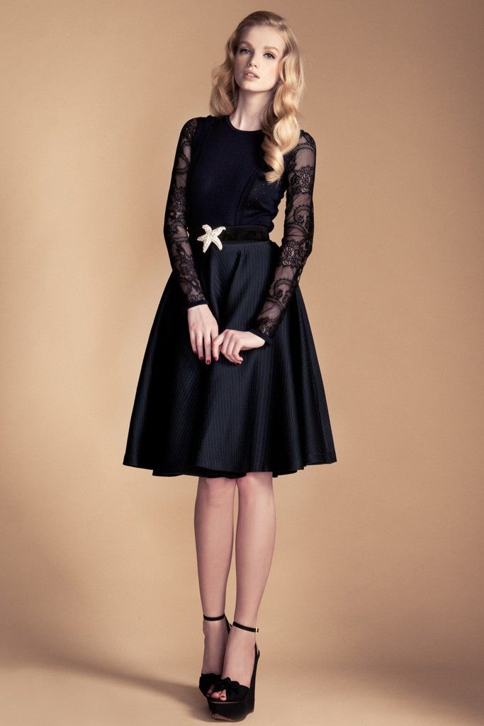 temperley london deep navy bridesmaid dress inspiration