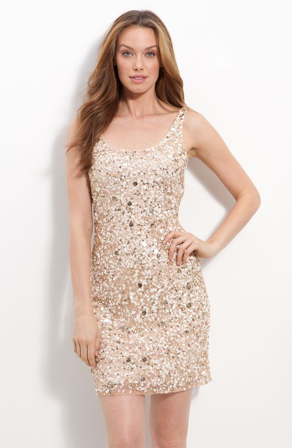 Short Sparkly Wedding Dresses 30 Cute sparkly sequin LWD for