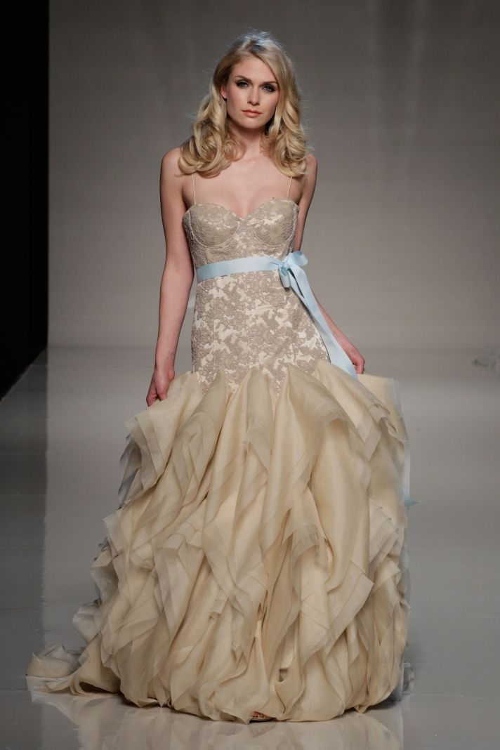 The London Wedding Dress Report for 2013 | OneWed