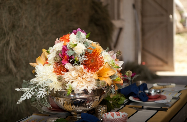 Kentucky Derby inspired wedding theme bridal shower inspiration romantic rustic spring centerpiece