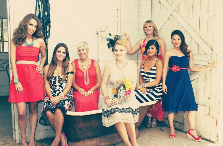 fun bridal shower theme for summer red white blue kentucky derby