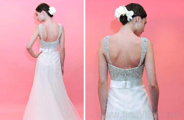 badgley mischka bride 2013 wedding dress statement back bridal gowns 1