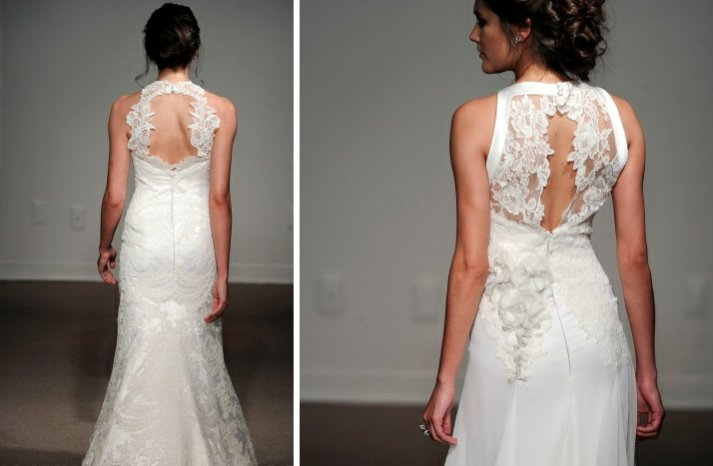 ulla maijor 2013 wedding dress statement back bridal gowns 1