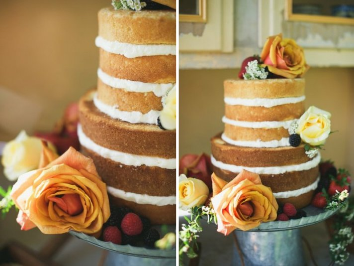unique wedding cakes non cake reception desserts unfrosted