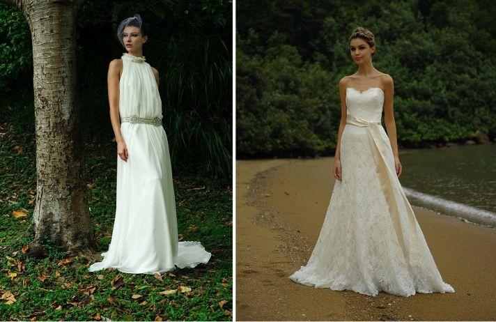 beach bride wedding dresses Augusta Jones bridal gowns lace 3