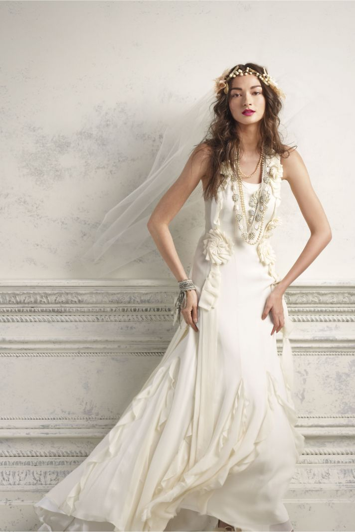 the anatomy of an anthropologie wedding onewed With anthropologie wedding dress