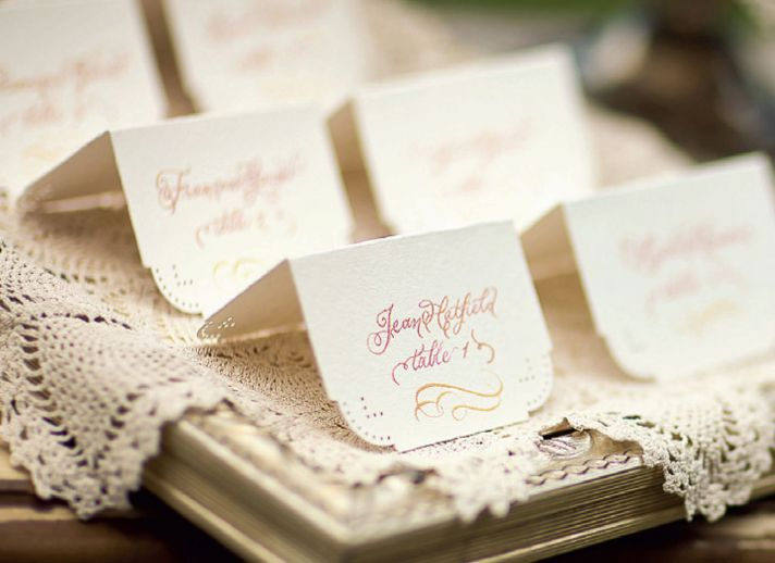 25 wedding escort cards to get excited about ombre wedding escort cards junglespirit Images