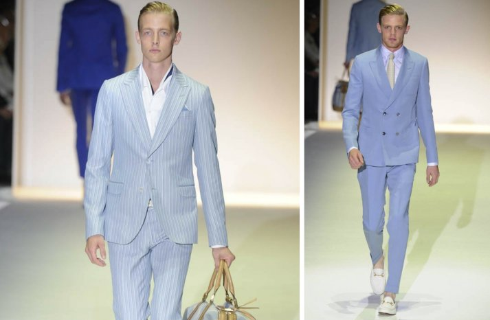 grooms style inspiration 2012 weddings Gucci orange light blue
