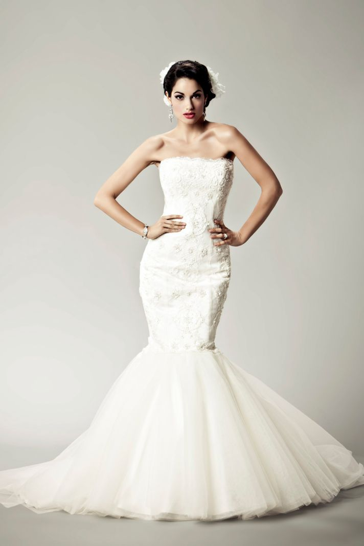 2012 wedding dresses Matthew Christopher bridal gown lexie