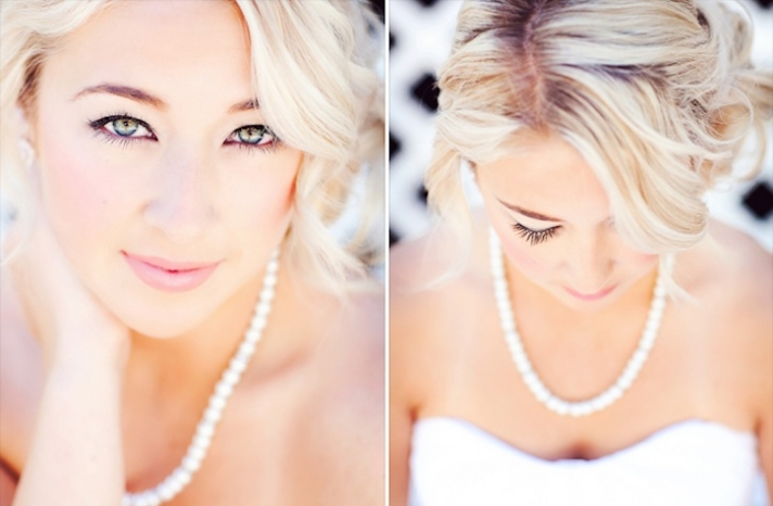 glamourous brides guide to wedding day style bridal beauty romantic 2