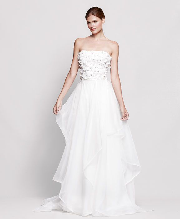 2013 wedding dress Reem Acra for Nordstrom bridal gowns 7