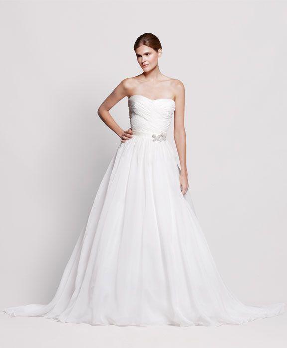 2013 wedding dress Reem Acra for Nordstrom bridal gowns 1