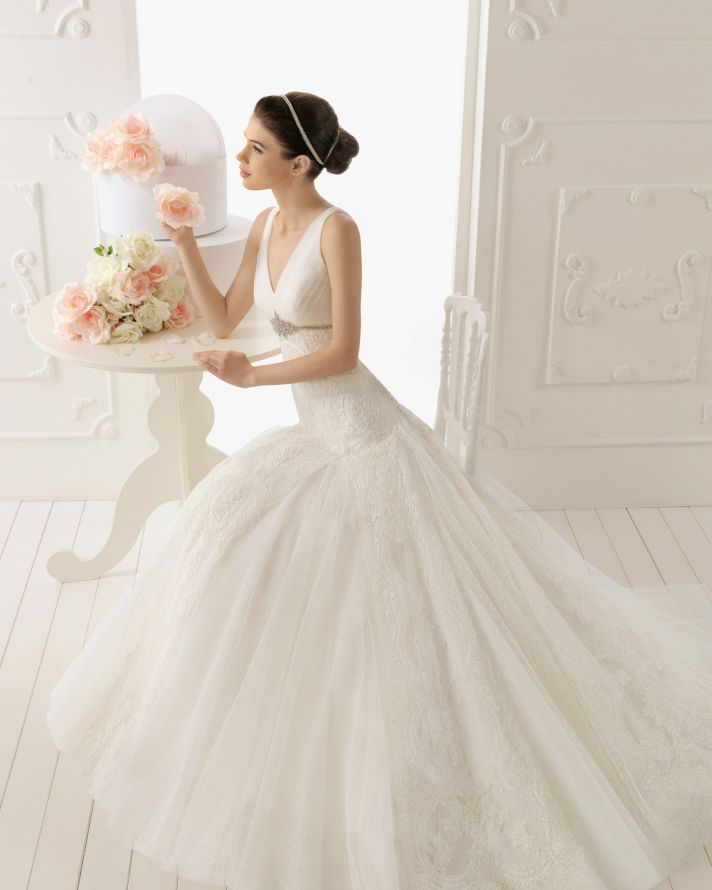 2013 wedding dress by Aire Barcelona bridal gowns Raisa