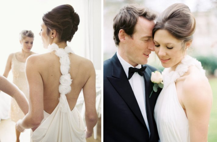 15 bridal updos we love wedding hair inspiration chic french twist