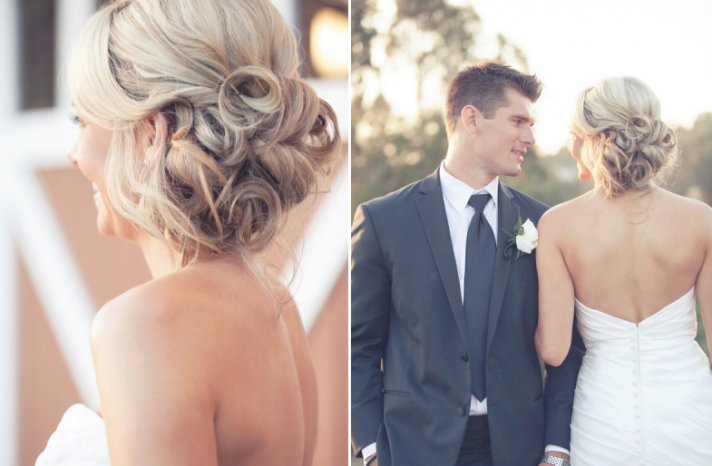 wedding updos we love summer 2012 romantic sideswept hairstyles with ...