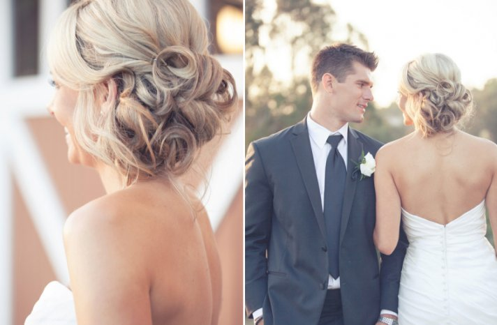 wedding updos we love summer 2012 romantic sideswept hairstyles with curls