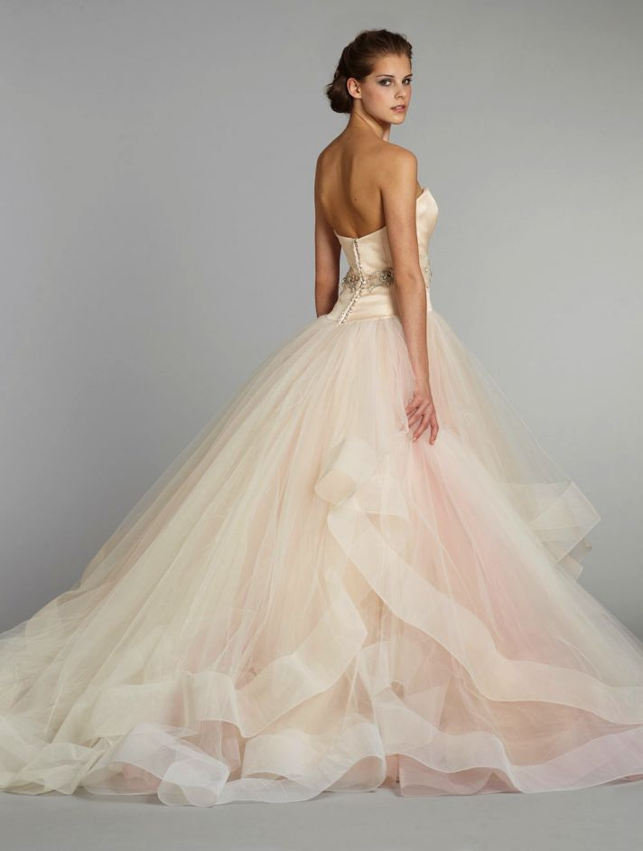 fall 2012 wedding dress Lazaro bridal gowns 3250 b