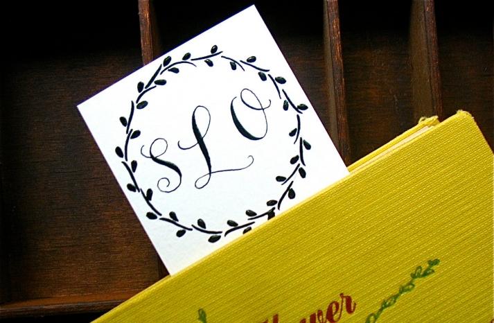 gorgeous wedding invitations hand calligraphy wedding stationery monogram