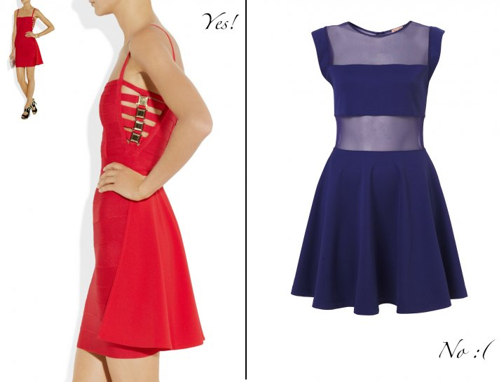 what not to wear for wedding guests cutout dresses