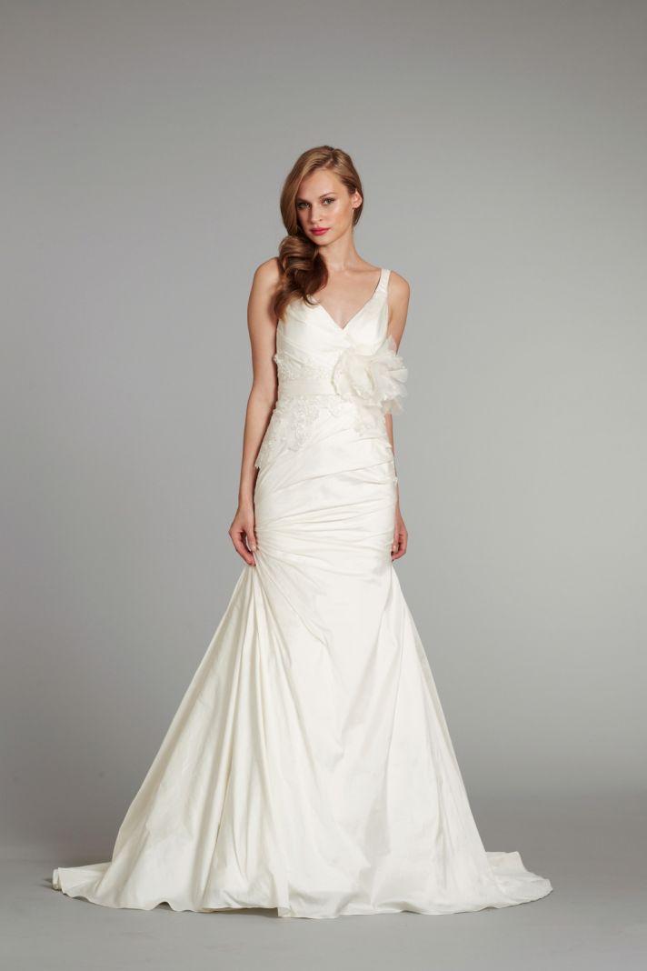 2012 wedding dress ivy blush by hayley paige