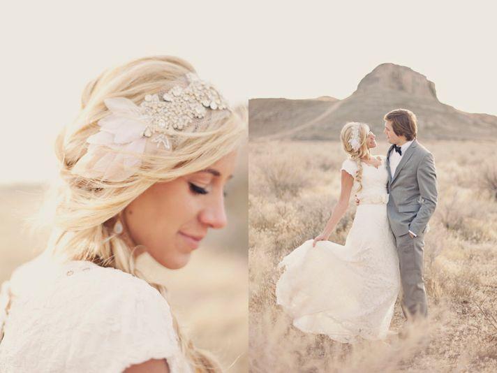 romantic bridal headpiece crystal bandeau