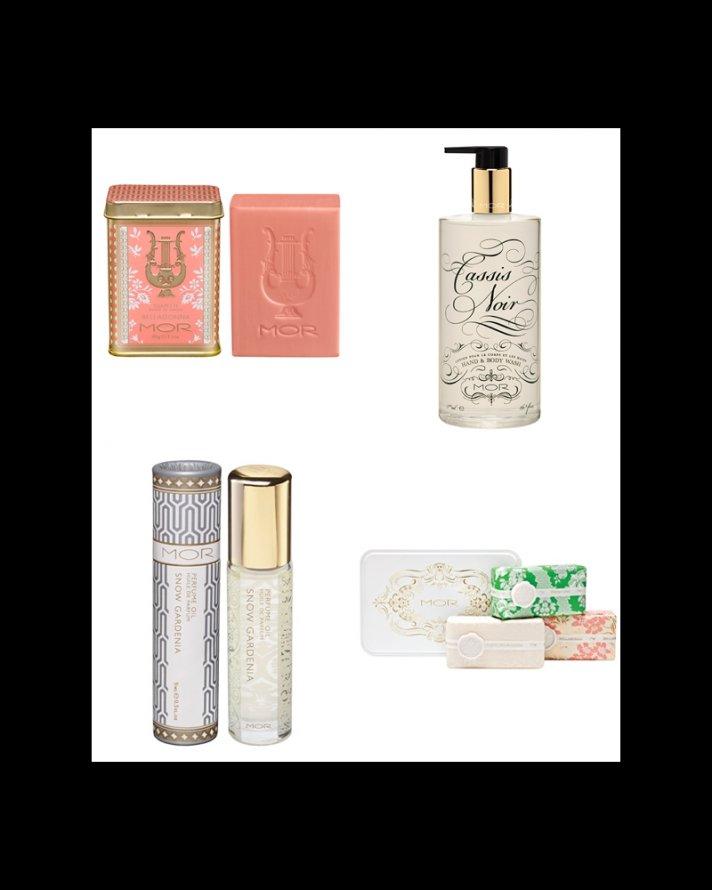 bridesmaid gifts and bridal makeup from MOR