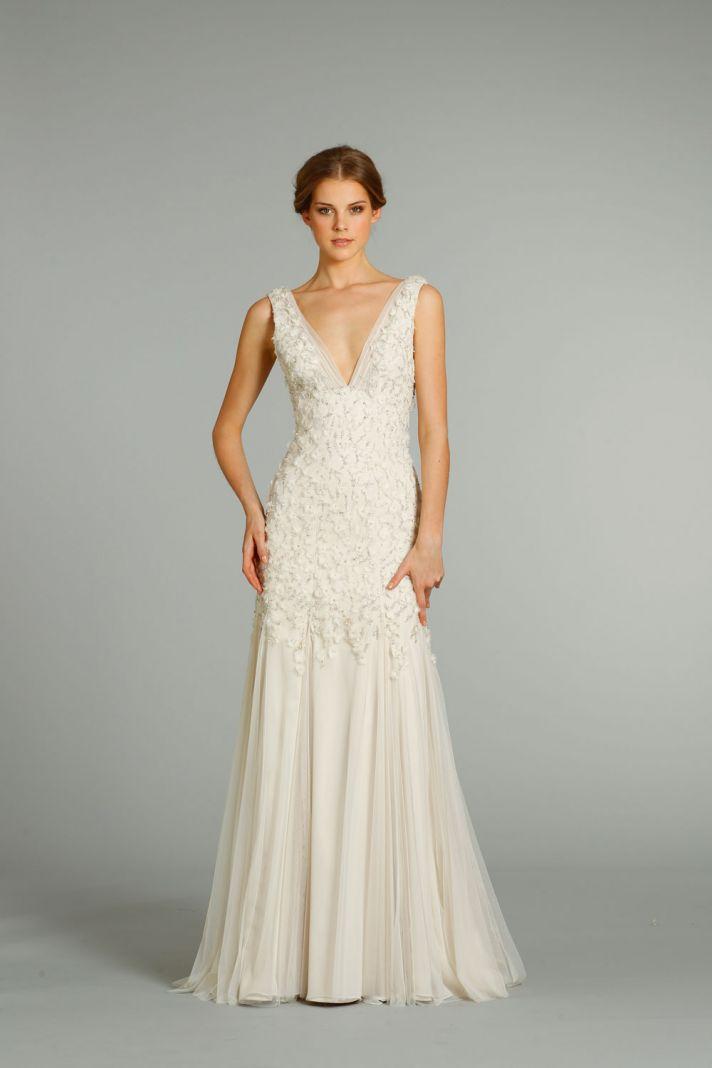 fall 2012 wedding dress Jim Hjelm bridal gowns 8265