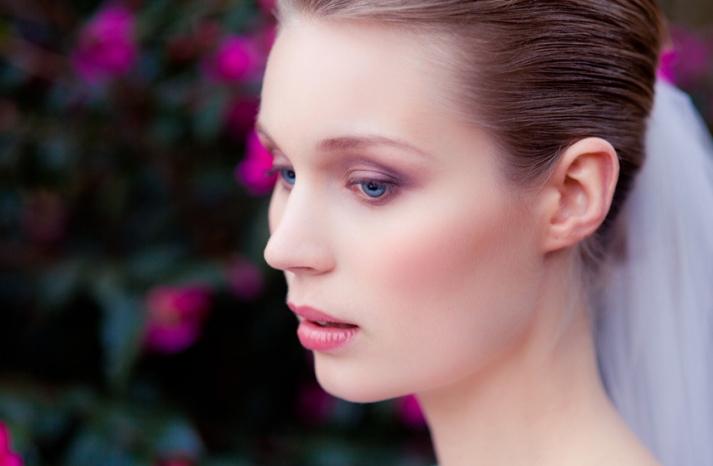 romantic wedding hair makeup inspiration 17