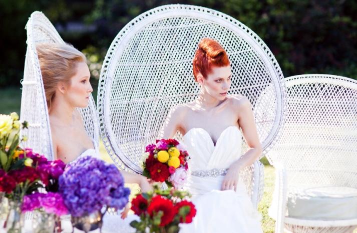 romantic wedding hair makeup inspiration 11