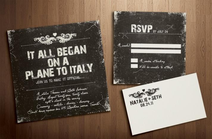 15 fun wedding finds on Etsy handmade weddings vintage invitation