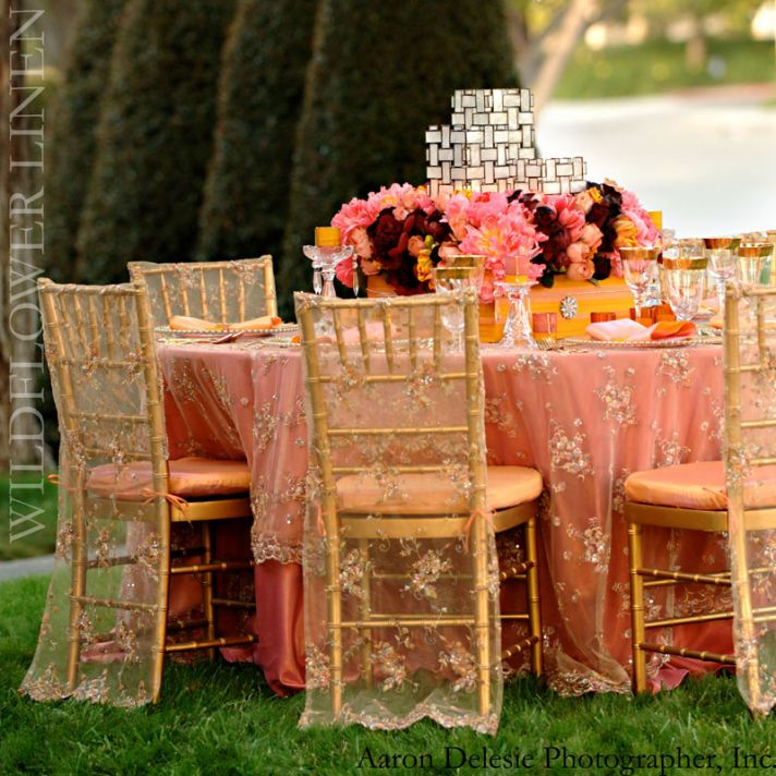 Celebrity Wedding Reception Decor: Celebrity Story On The Spot: Marriage Ceremony Chairs