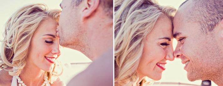 romantic engagement session vintage inspired