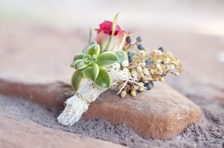 Parisian romance wedding inspiration handmade weddings Amelie theme boutonniere
