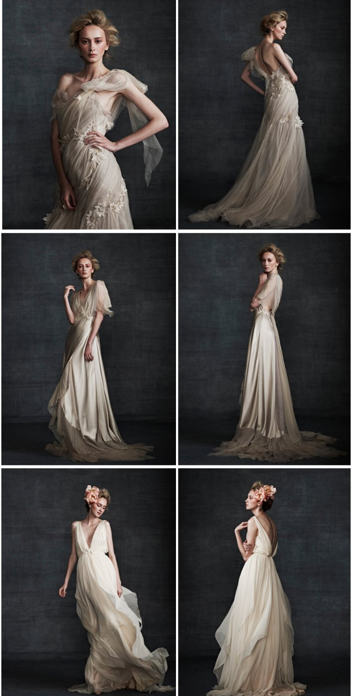 elegant wedding gowns Samuele Couture 2013 wedding dress 2