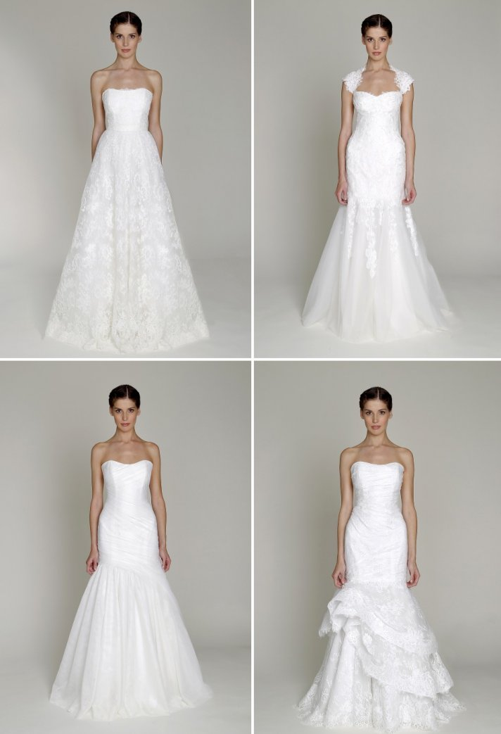15 beautiful budget friendly 2013 bridal gowns by monique for Monique lhuillier wedding dress