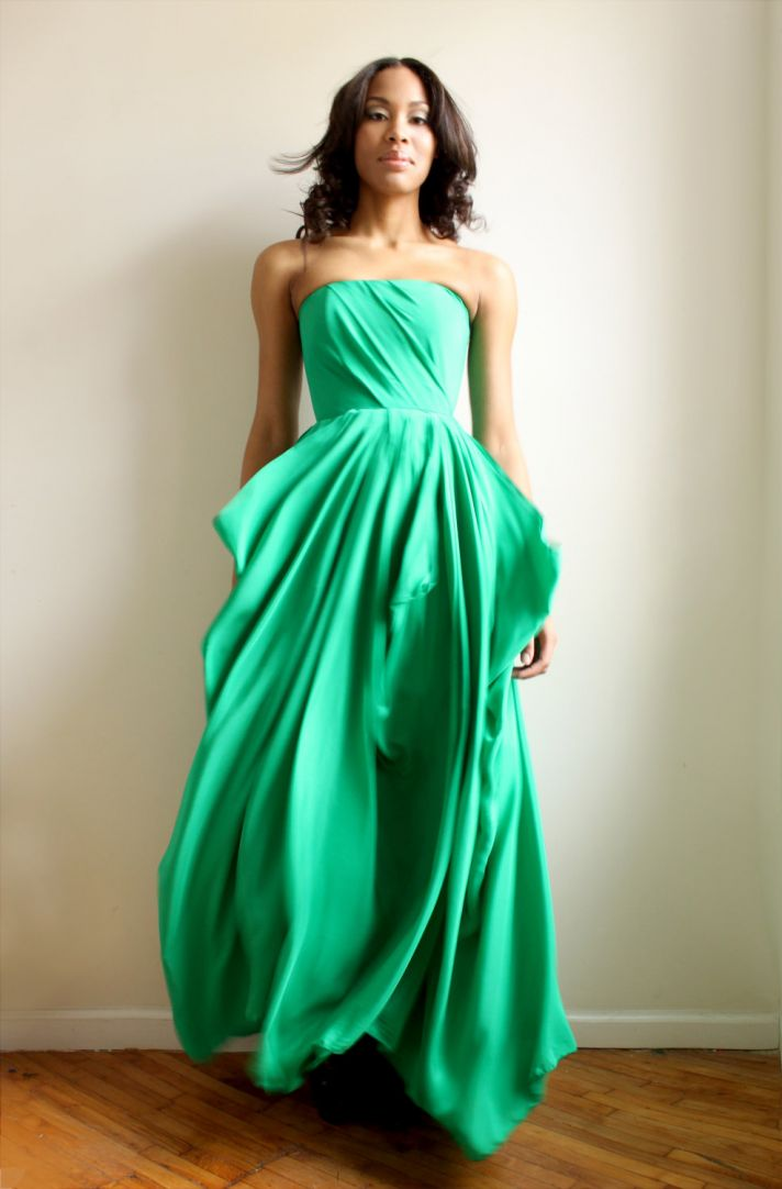 Gallery For Emerald Green Bridesmaids Dresses