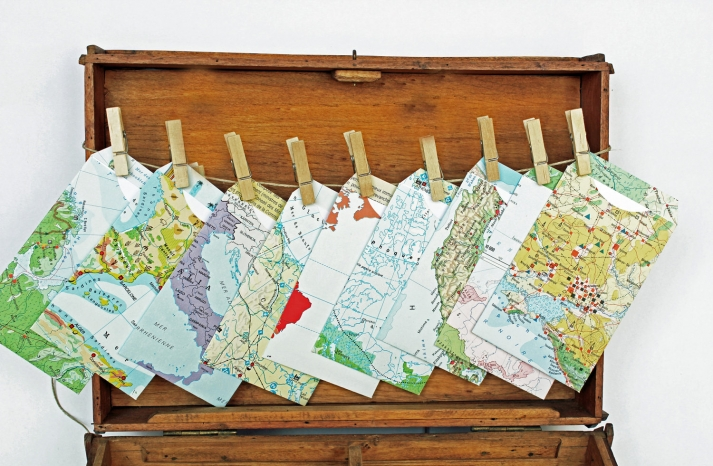 map inspired weddings travel themed wedding invitations and paper from Etsy guestbook alternative
