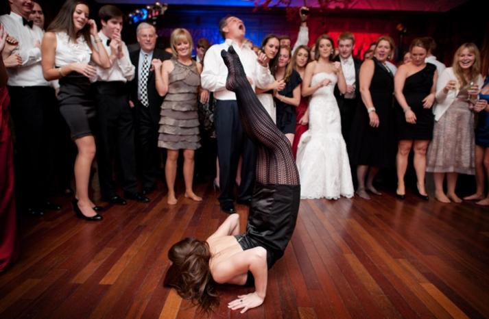 priceless wedding photos dance floor shenanigans