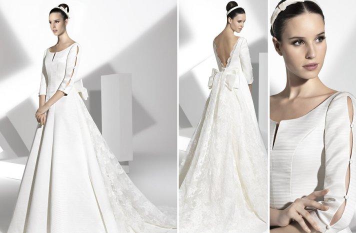 2013 wedding dress Franc Sarabia bridal gowns Spanish designers 5