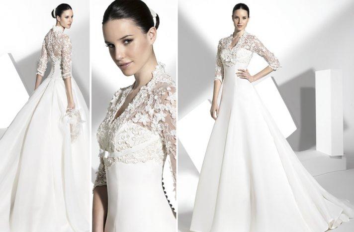 2013 wedding dress Franc Sarabia bridal gowns Spanish designers 11