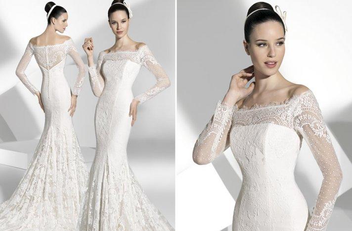 2013 wedding dress Franc Sarabia bridal gowns Spanish designers 20