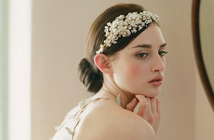 chic bridal headbands unique wedding hair accessories Twigs n Honey 1