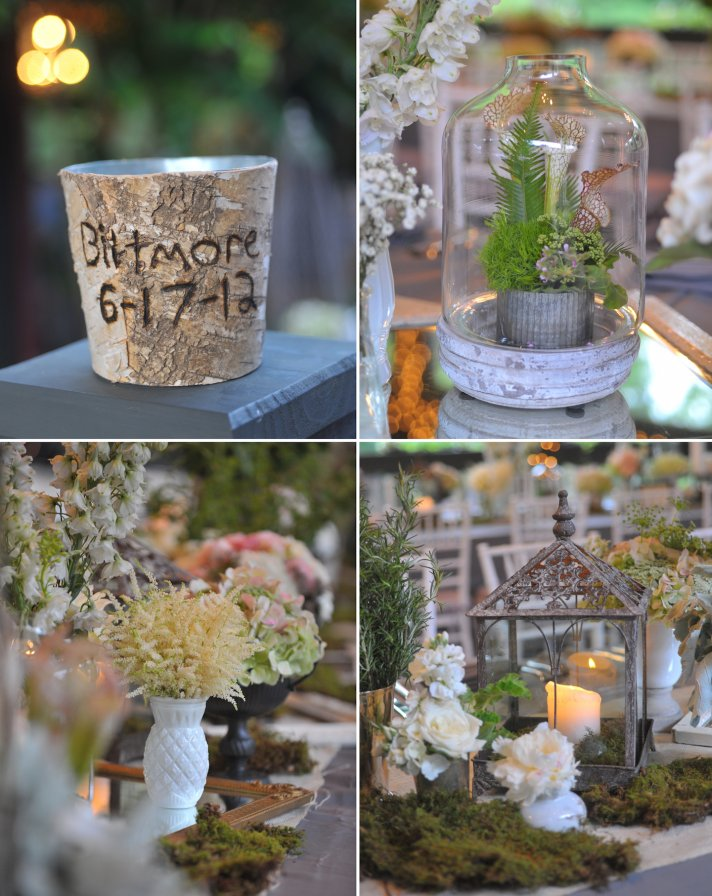 elegant wedding in North Carolina classic wedding party romantic setting 34