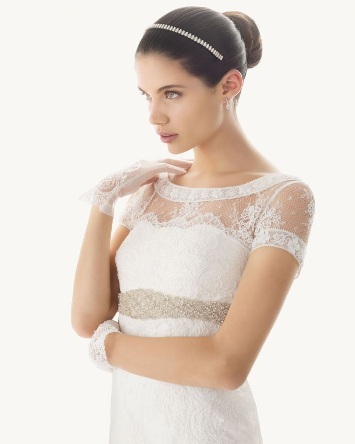 transforming wedding dresses 2013 bridal gown by Rosa Clara 13