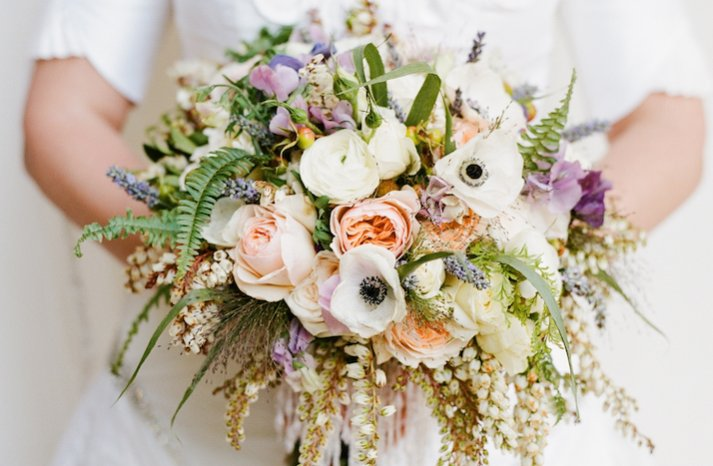 elegant weddings styled by Jerri Woolworth bridal bouquet