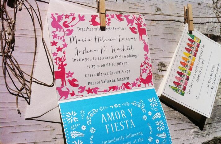 wedding invitations for modern weddings Etsy wedding finds modern Mexico