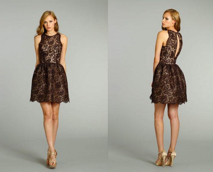 beyond the lbd fifteen beautiful black bridesmaids 39 dresses onewed. Black Bedroom Furniture Sets. Home Design Ideas