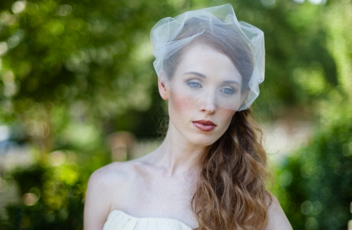 tulle wedding accessories for romantic brides from Etsy birdcage