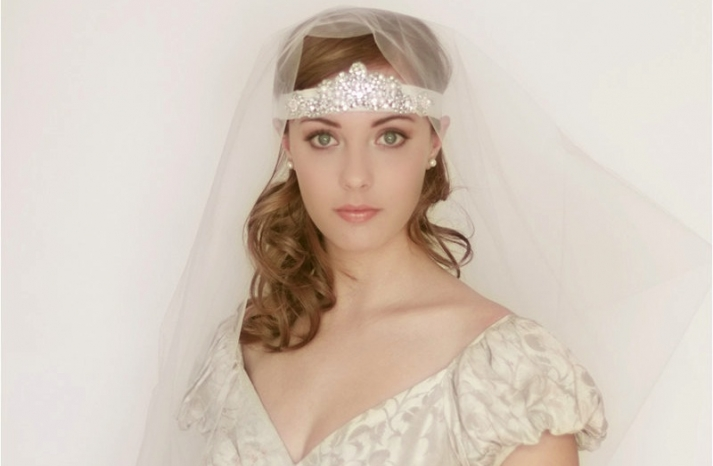 tulle wedding accessories for romantic brides from Etsy circle veil